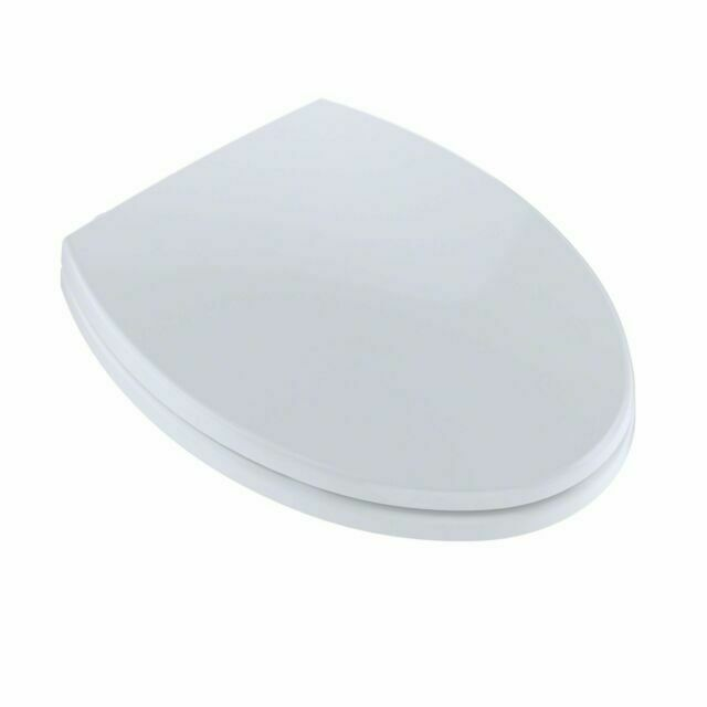 TOTO SS114 01 Transitional SoftClose Elongated Toilet Seat