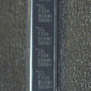 910-PCS-Silicon-Labs-C8051F334-GM-Microcontrollers-8BIT-2KB-FLASH-20QFN