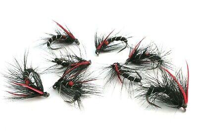 Epoxy Buzzers Flies Barbless Rainbow Hooks Trout Brown Hot Head VIVA