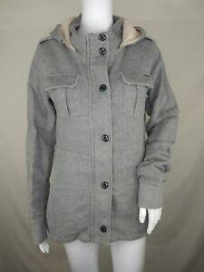 Hilo Element Madera y chaqueta para mujer con capucha