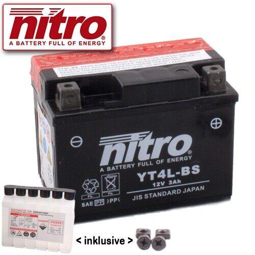 1987 Nitro yt4l-bs Batterie SUZUKI rg80 Gamma nc11a Bj
