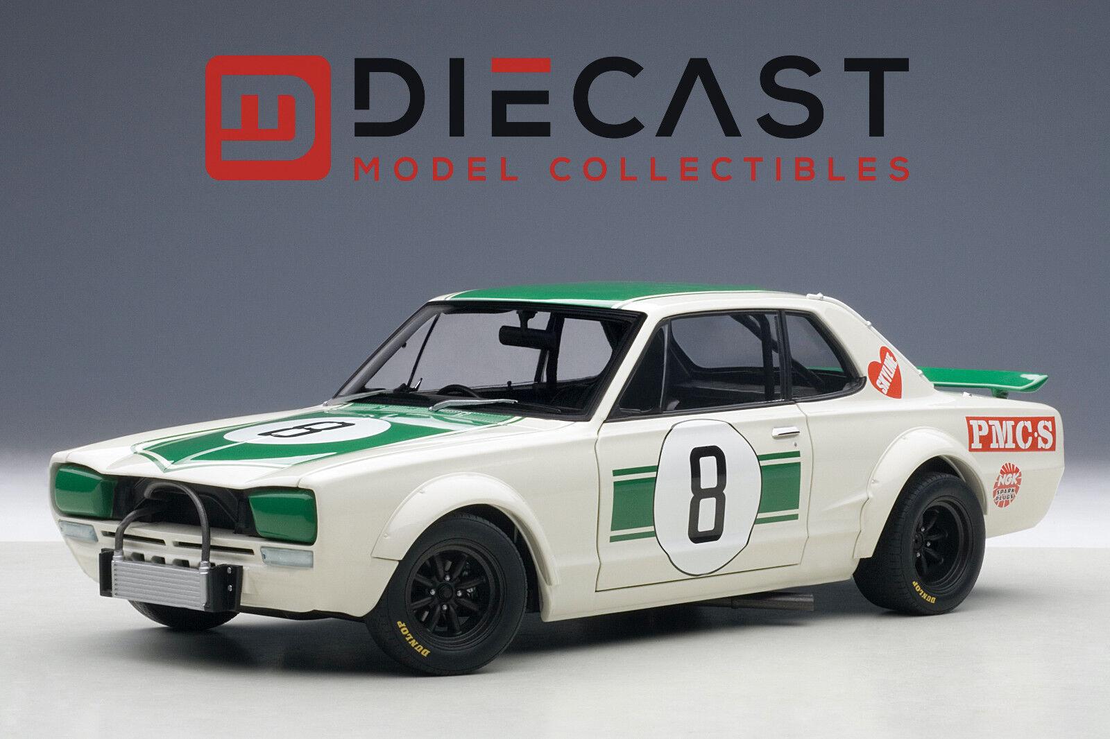AUTOART 87177 Nissan Skyline GT-R (KPGC - 10), Masahiro Hasemi  8, 1 18TH échelle