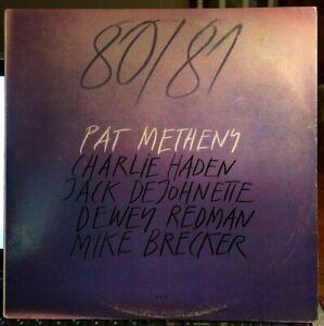 Pat-Metheny-80-81-2-LP-ECM-1980-J-DeJohnette-R-Brecker-EX
