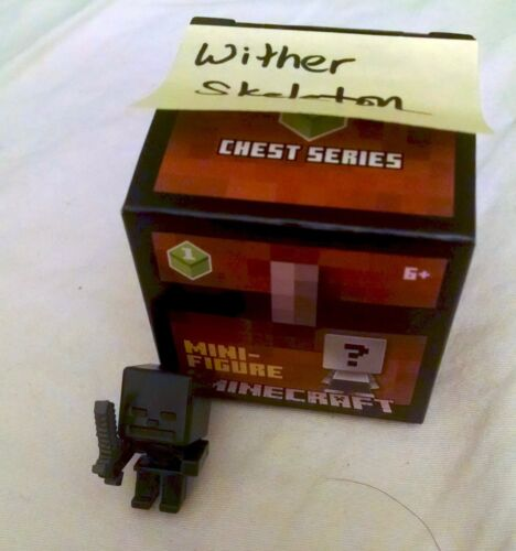 BOGO Get 4th FREE Minecraft minifigures NEW Chest 3 /& 4 series Ship Free