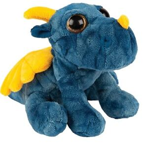 Suki 14533 Dragon Blue 7 7/8in Cuddly Toy Collection Suki Classic