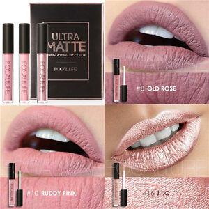 FOCALLURE-3xUltra-Matte-Metallic-Lipstick-Long-Lasting-Lip-Gloss-Make-Gift