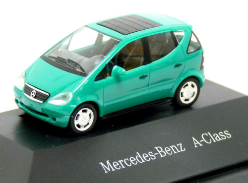 Herpa Mercedes Benz MB A-Klasse A140 W168 grün Edition A Modell 1:87 H0