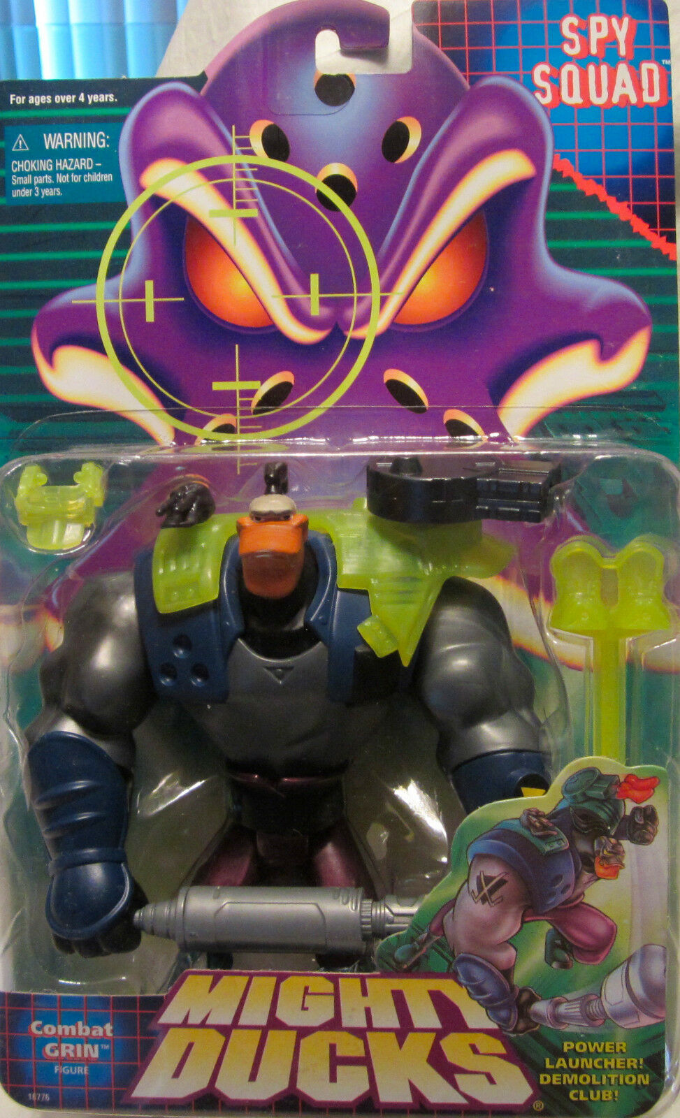 Mächtig Enten Schlacht Grin Actionfigur Mattel 1996 Neu