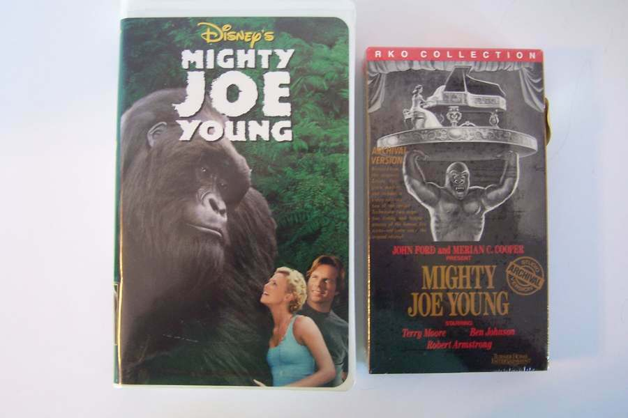 Mighty Joe Young VHS Video Tape Lot
