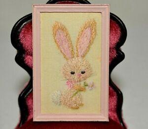 Doll House Shoppe Bunny Figurine Miniature 1:12 gemjane
