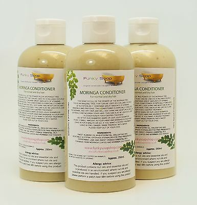 1bottle Moringa Conditioner 250ml, for normal and dry hair