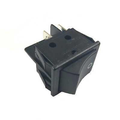 Rocker Switch Canal R Series Black DPST 20 A 16 A Replace Hongju R Series Black
