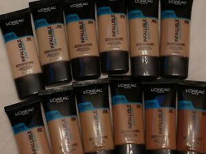 L'Oreal Infallible Pro-Glow Foundation ~ Choose From 12 Shades