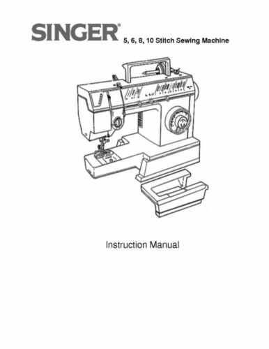 Singer 4525-4526-4528-4530 Sewing Machine Owners Manual Reprint FREE SHIPPING