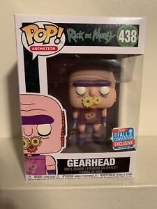 Vinyl Rick and Morty NYCC Fall Convention Exclusive 2018 Gearhead Funko Pop