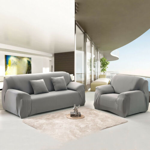 Stretch Chair Sofa Cover Protector Couch Cover Full Cover Slipcover 1-4 Seater