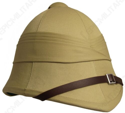 Ejército Británico Tropical Médula Casco Repro Explorer Colonial Sombrero