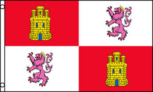 3x5-Spain-Royal-Standard-Flag-Coat-Of-Arms-Monarchy-Lions-Castles-Spanish-3X5