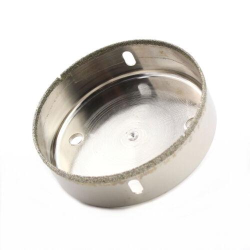 Tile Hole Saw 100 mm Coated Diamond Tip Drill Bit Pour Verre Pierre céramique