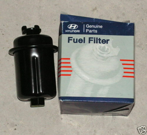 hyundai fuel filter various models 3191122000 for sale online | ebay  ebay