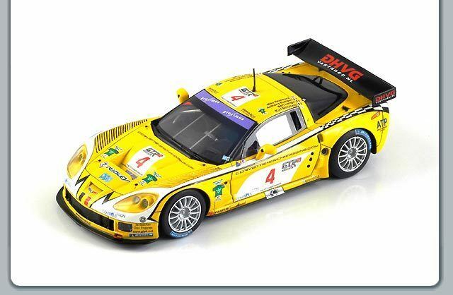 1 43 Corvette C6-R  24 Hrs Spa Francorchamps 2006