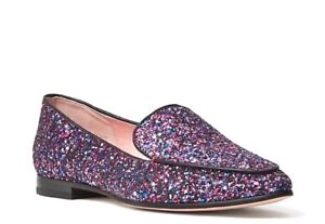83cf72224271 Kate Spade New York Calliope Glitter Loafers Size 6 Moccasin Purple ...