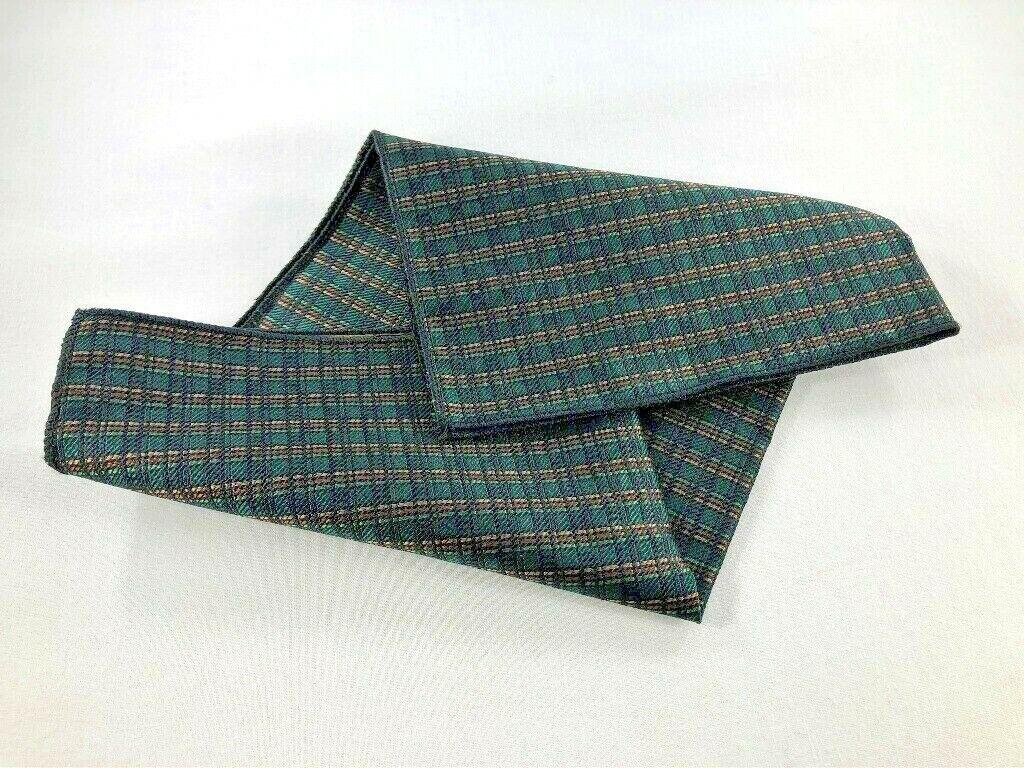 Mens Silk Pocket Square ~ 10.5