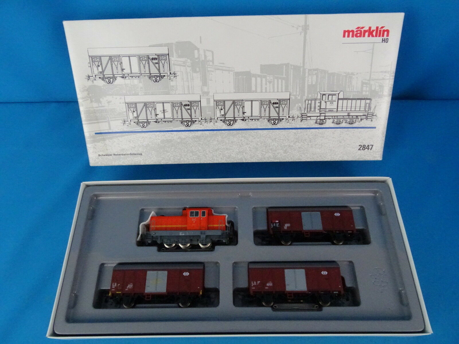 Marklin 2847 SBB CFF Swiss Branch Line Freight Train