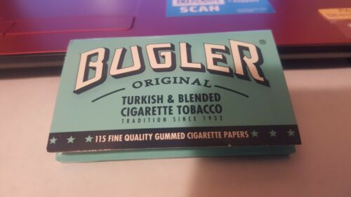 5 packs  x 115 papers bugler rolling papers