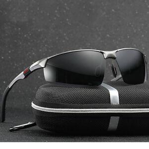 DUBERY Herren Sonnenbrille Polarisiert Brillen UV400 Pilotenbrille Outdoor Radsport