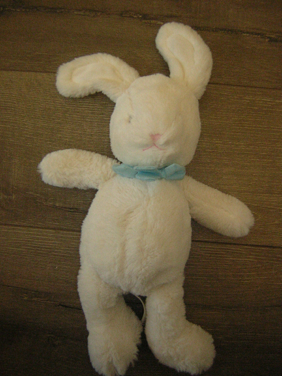 MARKS AND SPENCER WHITE BUNNY RABBIT SOFT TOY 08975621