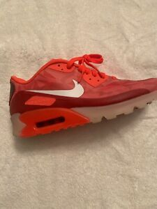 Details about NIKE AIR MAX 90 ICE LASER CRIMSON WHITE LEGION RED SZ 9