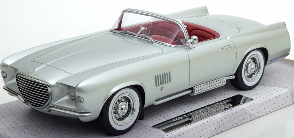 Minichamps 1955 Chrysler Ghia Falcon Convertible Light Green Met 1/18 LE of 1002