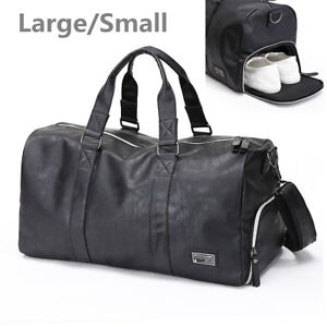 89530e3946a0 Image is loading Men-Waterproof-Travel-Sports-Gym-Bag-Duffle-Fitness-