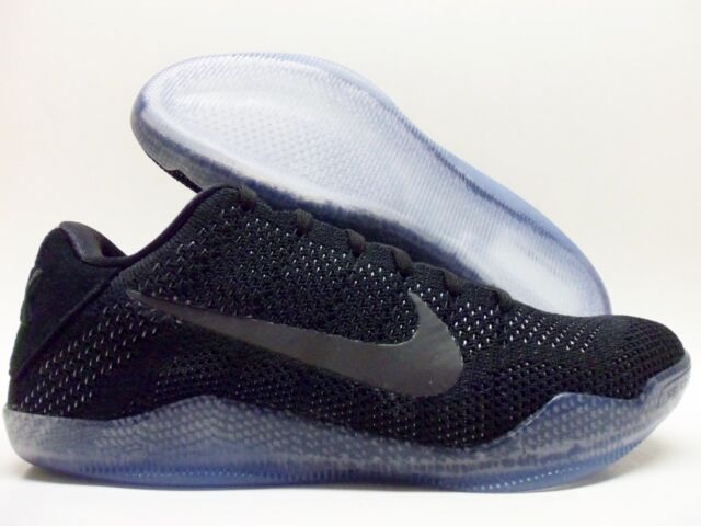 7100cf6e7a5f Nike Kobe XI Elite Low Black Space 11 Men Basketball Shoes 822675-001 7
