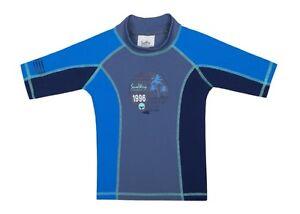 0b095851c0 SunWay UPF 50+ Boys Rash Guard Swim Shirt UV Sun Protective | eBay