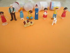 HEIDI GIRL OF THE ALPS SURPRISE EGG TOYS COMPLETE SET OF 10