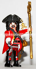 Playmobil 9146 Series 11 BOYS Pirate Tricorn Triton captain pirata hook NEW