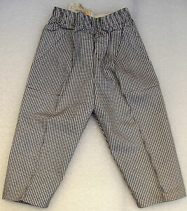 Vintage-childrens-clothes-UNUSED-1950s-check-trousers-Age-18-24-month-TRIMSONA