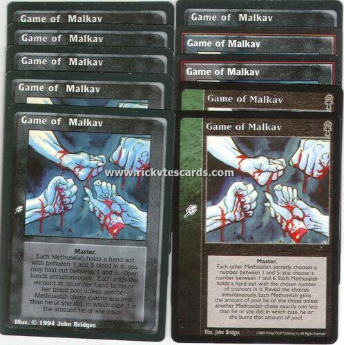 Game of Malkav x10 CE VTES Jyhad