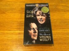 Who's Afraid of Virginia Woolf? (VHS, 1966) - BURTON & TAYLOR - NEW
