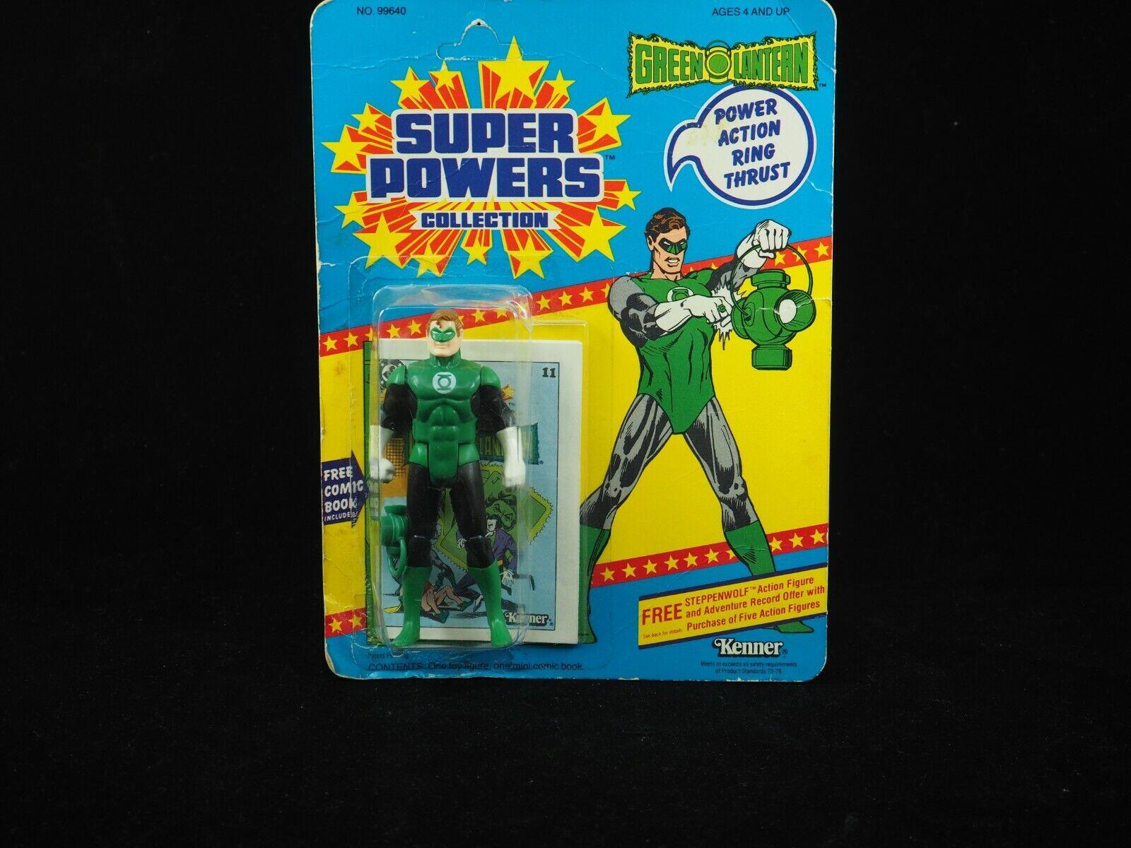 Vintage Kenner súper poderes 12 Linterna verde Con temprano Oferta ENLOMADOR