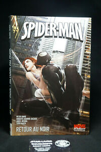 Spider-man-Retour-au-Noir-Marvel-deluxe-Peter-David