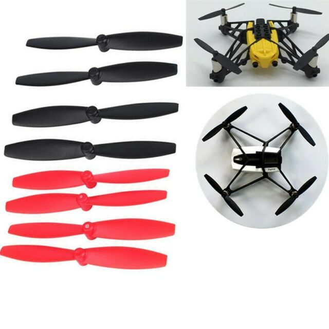 4PCS Replacement Propellers Props Blades For Parrot Mini Drone Black