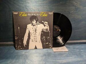 Elvis Presley, That's The Way It Is, RCA Victor AFL1-4445, 1977  Gospel