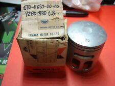 NOS Yamaha Piston 3rd O//S .75 1969 AT1 AT-1 248-11637-71