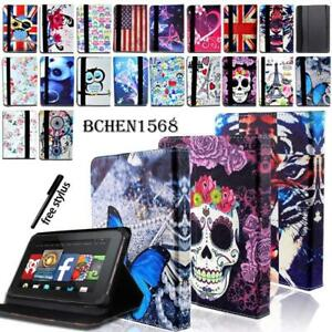 Per-Amazon-Kindle-Fire-7-HD-8-HD-10-Alexa-Tablet-PELLE-CASE-STAND-COVER