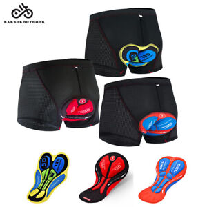 NEW Cycling Underwear Outdoor Sports Mesh Bike Shorts 5D Gel Pad Underpants