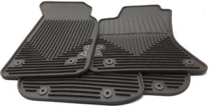 Oem Audi A4 Floor Mat Set Round Grommet Holes Zaw 179 001 A Cly Clay Ebay