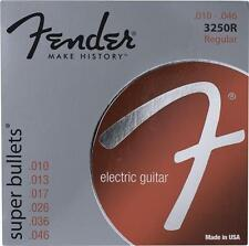 Fender 0733250406 3250R Super Bullet Electric Guitar Strings Set, .010-.046